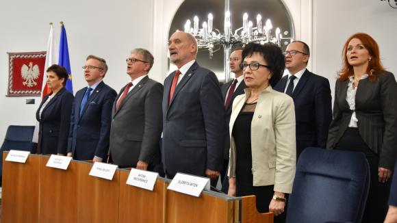 Pierwsze posiedzenie Sejmu nowej kadencji