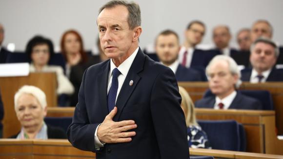Profesor Grodzki Marszałkiem Senatu