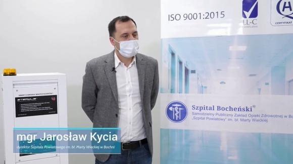 Badania potwierdzają, że produkowane w Polsce urządzenie niszczy koronawirusa