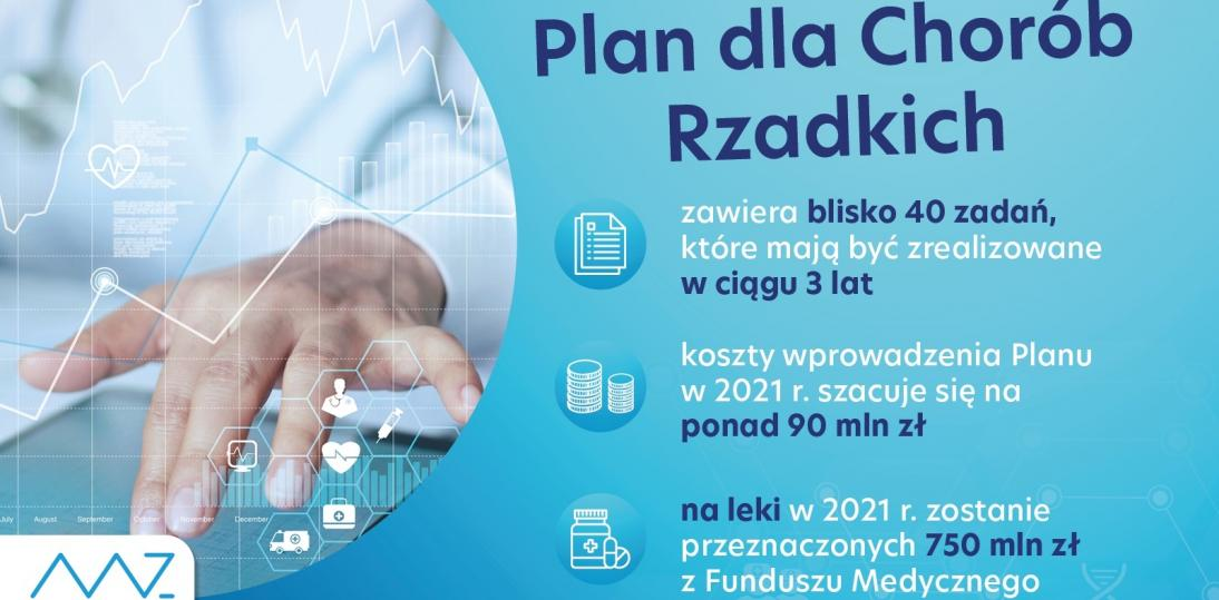 MZ przedstawiło Narodowy Plan Chorób Rzadkich