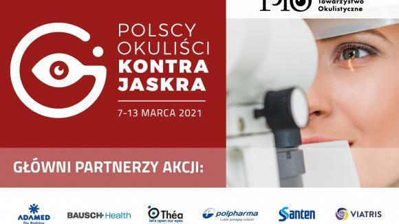 V edycja ogólnopolskiej akcji bezpłatnych badań przesiewowych w kierunku jaskry – Polscy Okuliści Kontra Jaskra