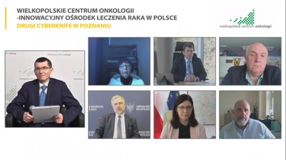 Drugi CyberKnife w Poznaniu - eksperci rozmawiali o korzyściach klinicznych z innowacyjnej radioterapii