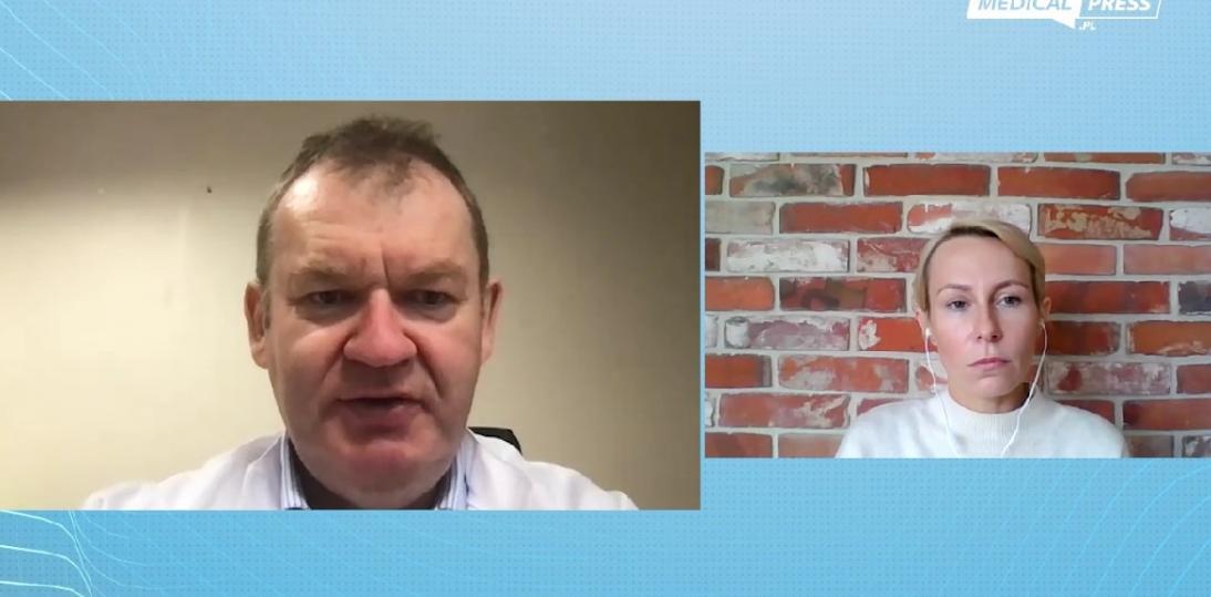 CyberKnife w leczeniu onkologicznym - rozmowa z prof. Piotrem Mileckim
