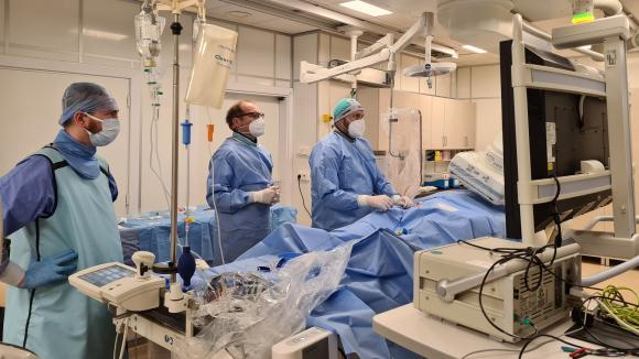 W kaliskim Okrąglaku ratują serca pomimo pandemii