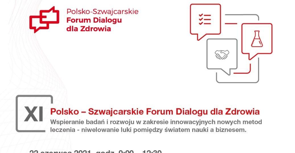 Jak wypełnić lukę między naukowcami a przedsiębiorcami - kluczowe pytanie 11. edycji Polsko-Szwajcarskiego Forum Dialogu dla Zdrowia