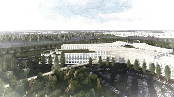 Na Dolnym Śląsku trwa proces łączenia trzech marszałkowskich szpitali - to kolejny etap inwestycji Nowego Szpitala Onkologicznego we Wrocławiu