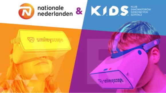 Fundacja K.I.D.S. i Nationale-Nederlanden pracują nad projektem VR dla dziecięcych szpitali