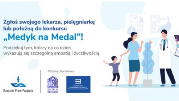 Medyk na Medal – konkurs Rzecznika Praw Pacjenta