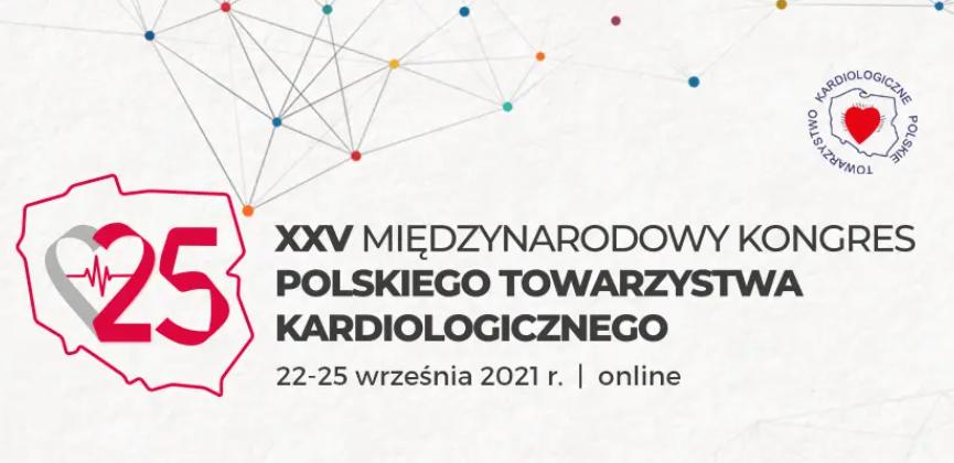 XXV Jubileuszowy Międzynarodowy Kongres Polskiego Towarzystwa Kardiologicznego - trwa rejestracja