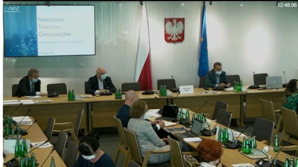 Posiedzenie Sejmowej Komisji Zdrowia - sprawozdanie z realizacji NSO w 2020 r.