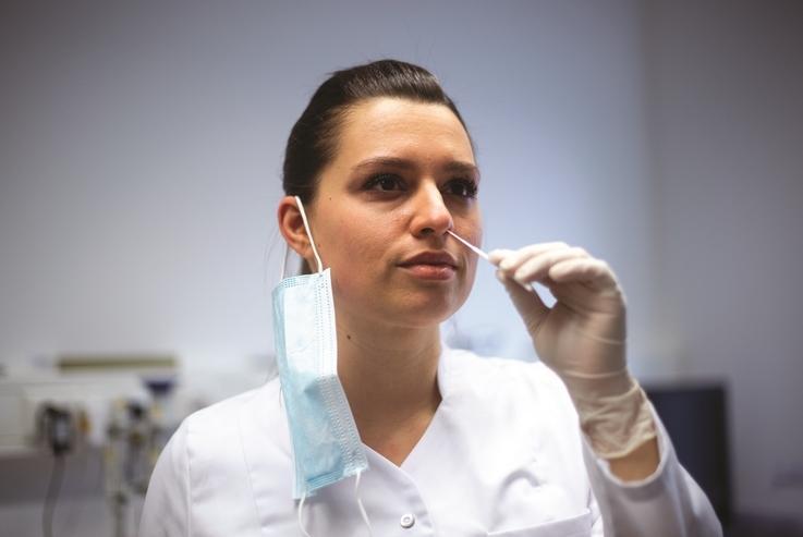 Szybki test firmy nal von minden GmbH wykrywa wariant koronawirusa Delta