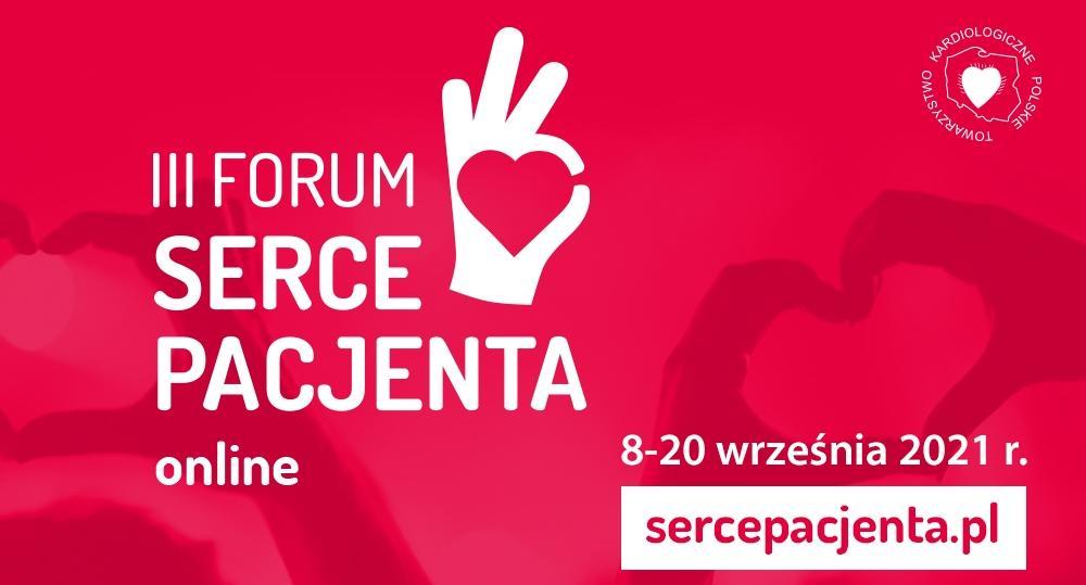 III Forum Serce Pacjenta PTK rusza 8 września 2021