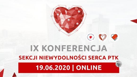 IX Konferencja Sekcji Niewydolności Serca Polskiego Towarzystwa Kardiologicznego - zaproszenie