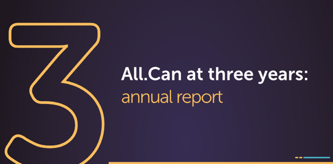 ALL.CAN - raport po trzech latach