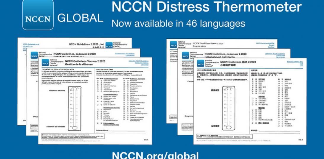 Termomentr dystresu NCCN umożliwia ocenę dyskomfortu psychicznego u pacjentów onkologicznych