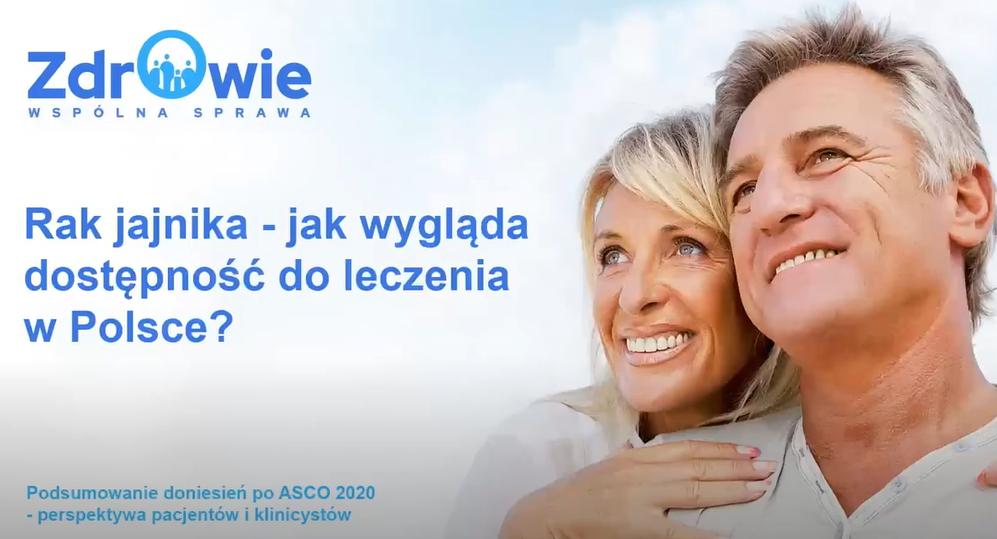 Rak jajnika - jak wygląda dostępność do leczenia w Polsce