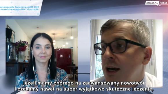 Prof. Piotr Rutkowski o dostępie do leczenie czerniaka w Polsce