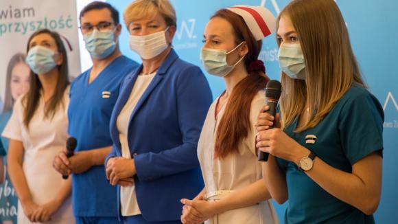 Stawiam na Przyszłość - ruszyła kampania promująca pielęgniarstwo