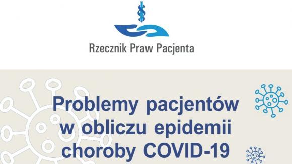 Raport RPP: Problemy pacjentów w obliczu epidemii COVID-19