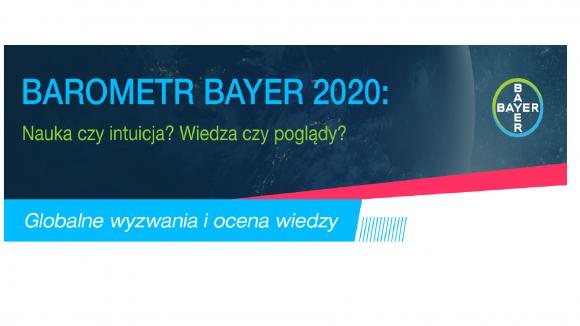 Barometr Bayer: globalne wyzwania - gdzie szukamy informacji