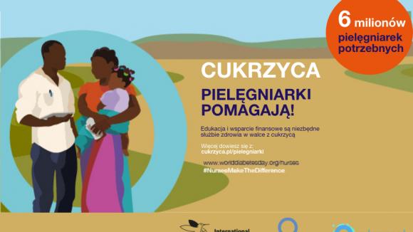 Światowy Dzień Cukrzycy 2020  - Cukrzyca: Pielęgniarki pomagają!