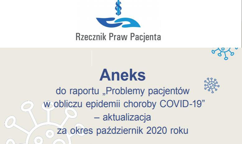 RPP publikuje kolejne dane o sytuacji pacjentów w czasie pandemii Covid-19