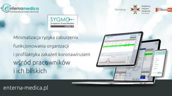 """Rusza """"SYGMO for COVID-19"""" - nowa polska platforma telemedyczna  dla przedsiębiorstw i instytucji"""