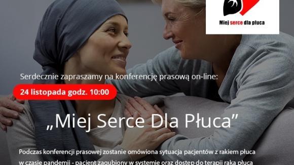Miej Serce dla Płuca - konferencja prasowa