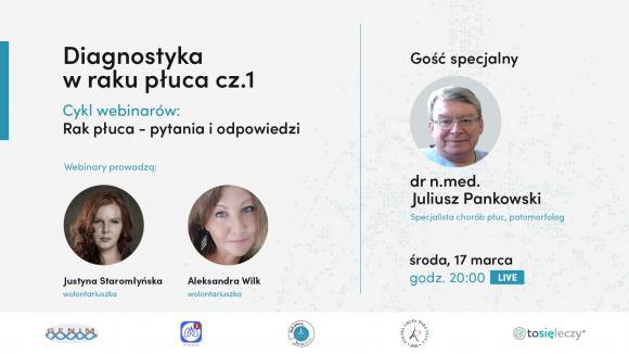 Webinar dla pacjentów - Diagnostyka raka płuca cz. 1