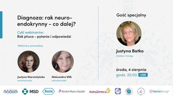 Webinar dla pacjentów - DIAGNOZA: RAK NEUROENDOKRYNNY i co dalej?